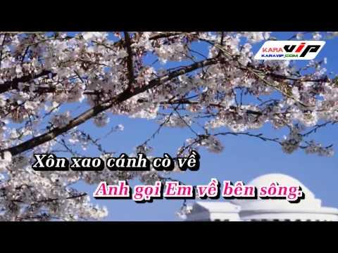 [Karaoke] Xôn Xao Bến Nước - Thu Hiền