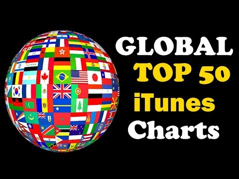 Global iTunes Charts | Top 50 | August 2017 #1 | ChartExpress
