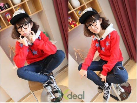 Áo Khoác Chui Cổ Star Fashion