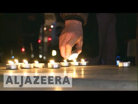 Paris : Hundreds attend vigil held for shot Chinese man