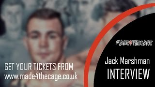 Made 4 the Cage 18 - Takeover - Pre-Fight Interview with Jack Marshman