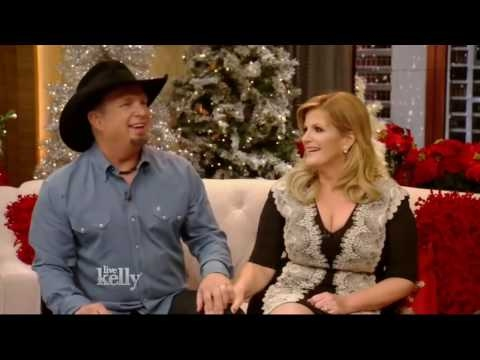 Garth Brooks and Trisha Yearwood Interview | Live with Kelly (Dec 21, 2016) hd