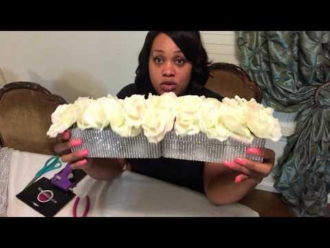 DIY $3 Dollar Tree Wedding Centerpieces