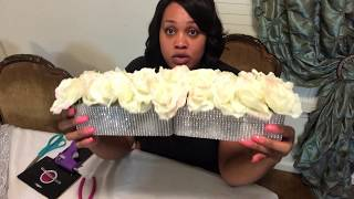 DIY $3 Dollar Tree Wedding Centerpieces