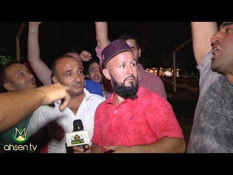 Arkadan Gelen Gencin Yaptığı Hareket Ahsen Tv Muhabirini Şaşırttı