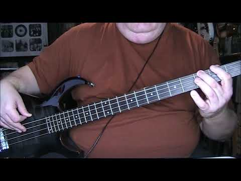 Huey Lewis & The News Doin' It All For My Baby Bass Cover with Notes & Tab Mp3