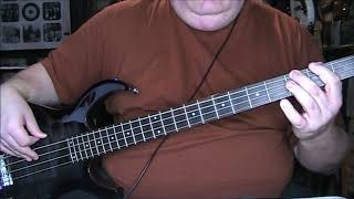 Huey Lewis & The News Doin' It All For My Baby Bass Cover with Notes & Tab