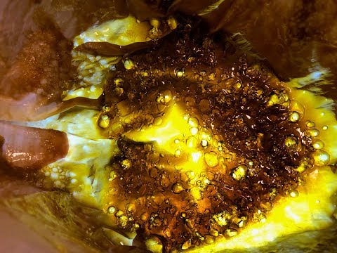 DIY - BHO Shatter Butane BLASTING - Cannabis Wax - Marijuana Concentrates Honey Oil Butter Crumble