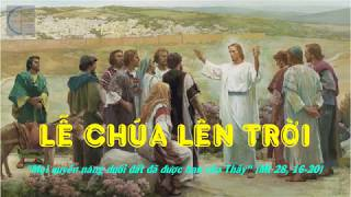 Tin Mừng Lễ Chúa Lên Trời