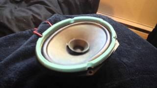 blowing 25w speaker 450w amp