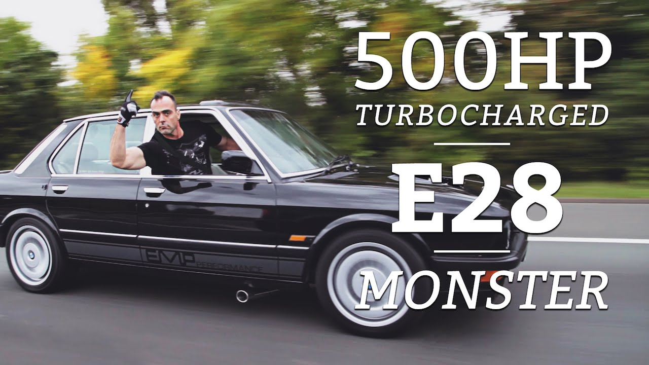 This Engineer Created A 500hp Turbocharged E28 Monster