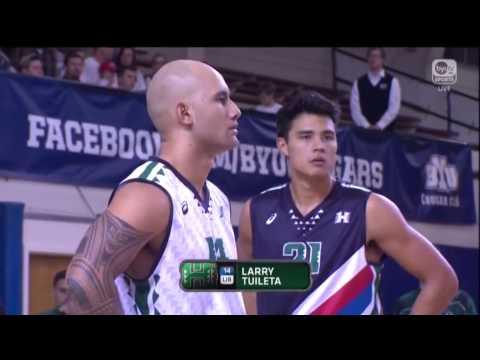 Hawaii Warrior Men's Volleyball 2017 - Rematch #4 Hawaii Vs #3 BYU