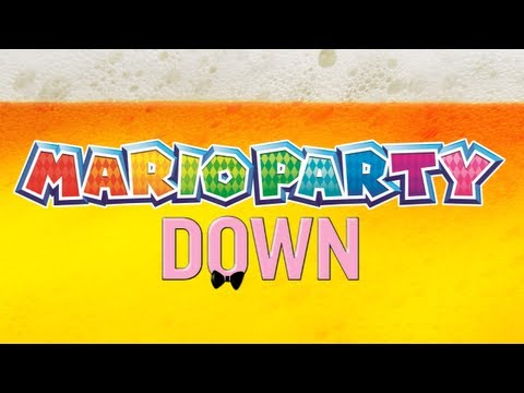 Drinking Games for Gamers - Mario Party Down