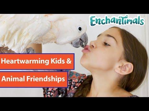Heartwarming Kids & Animal Friendships