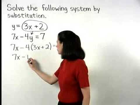 Solving Algebra Problems - MathHelp.com - 1000+ Online Math Lessons