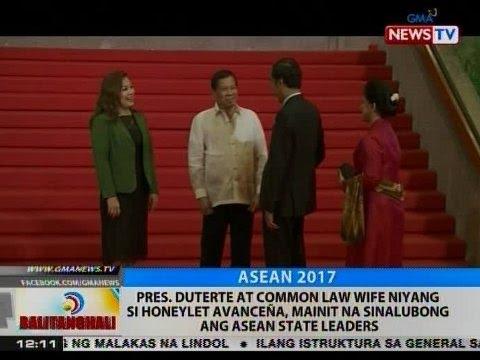 BT: Pres. Duterte at Honeylet Avanceña, mainit na sinalubong ang ASEAN state leaders