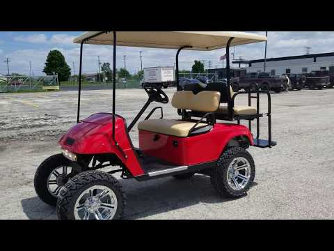Custom EZ GO TxT Gas Golf Cart For Sale From SaferWholesale.com