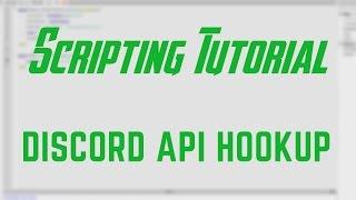 ROBLOX Tutorial   Discord API Hookup