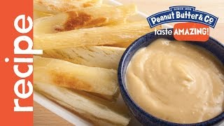 Baked Yucca Fries With Peanut Butter Aioli Sauce Recipe