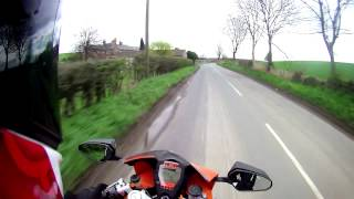 How to Ride a KTM RC8
