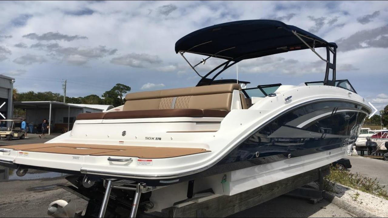 2017 Sea Ray SDX 270 Sport Boat For Sale at MarineMax Venice