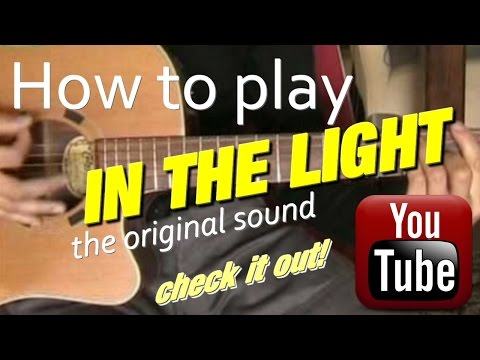 In The Light Chords By Dc Talk Worship Chords