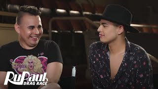 Valentina and Jaymes take a break from rehearsal to talk about the ...
