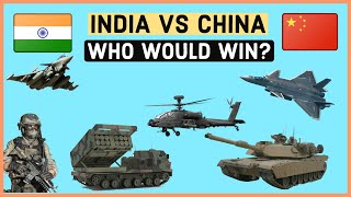 INDIA VS CHINA Military Power Comparison 2020