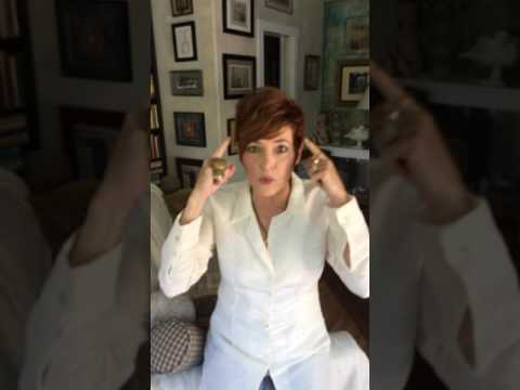 Carolyn Hennesy tries Alert Drops on camera for the very first time...Wow!!!