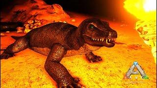 洞窟で危険なオオトカゲに遭遇!- ARK Scorched Earth ゆっくり実況 #23