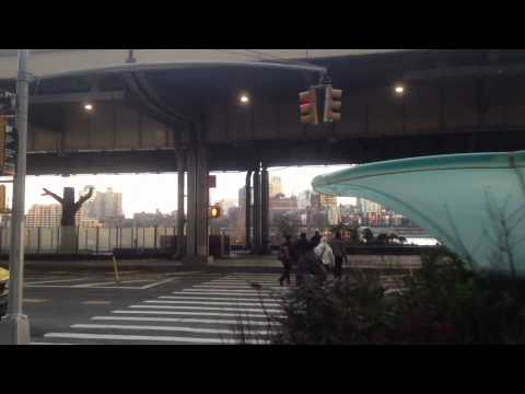 Wall Street Promenade Brooklyn Vew Wallabout Bay South street cross