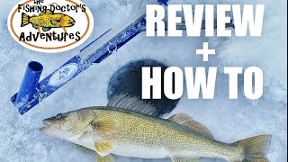 How To Jaw Jacker Fishing Walleye and Review