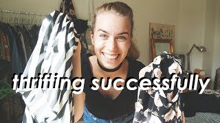 HOW TO THRIFT SUCCESSFULLY // a guide to second hand fashion