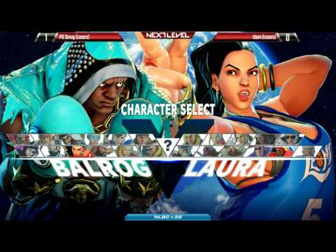 SFV SEASON 2: Next Level Battle Circuit v.52 - Grand Final - PIE Smug (Balrog) vs Idom (Laura)