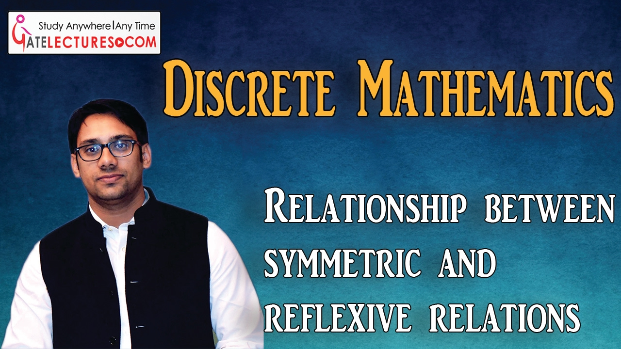 Relationship between symmetric and reflexive relations - YouTube