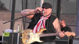"POPA CHUBBY  ""Working Class Blues"" & ""Rock Me Baby"" 7-18-14"