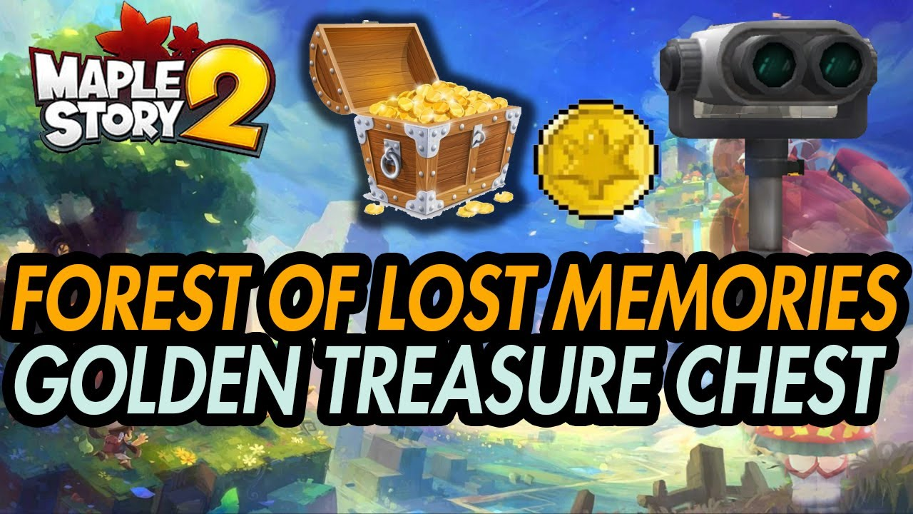 FAST Hidden Golden Chest - Forest of Lost Memories - How to Maplestory 2
