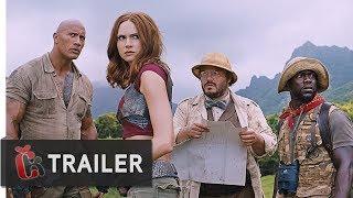 Jumanji: Vítejte v džungli! (2017) - První Oficiální Trailer
