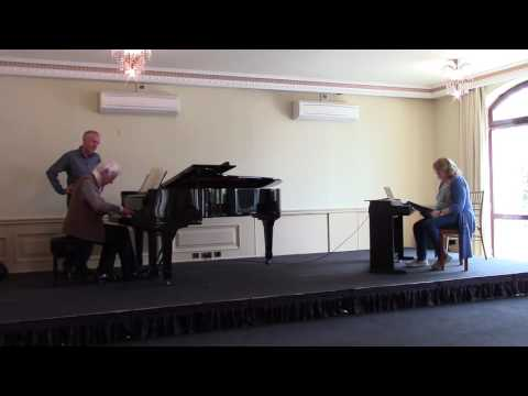 Eric Heidsieck masterclass on 1st Movement of Beethoven 3rd Concerto part 1