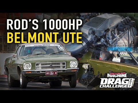 Tales from Drag Challenge: Rod's 1000hp Belmont Ute