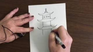 Draw a Pagoda