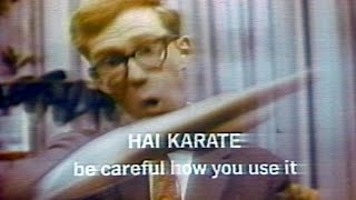 Hai Karate aftershave TV advert & unboxing !