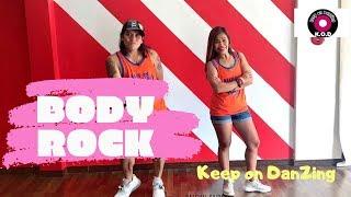 BODY ROCK BY MARIA VIDAL |RETRO |POP | KEEP ON DANZING (KOD)