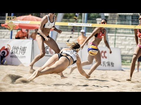 Women's Most DRAMATIC Rallies of all Time | Highlights from the Beach Volleyball World