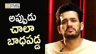 akhil emotional words about his first movie failure akhil latest interview filmyfocuscom