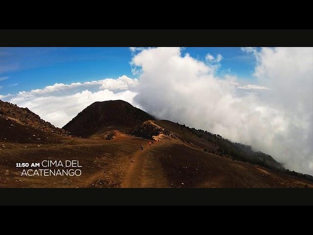 Una Barbacoa en el volcán Acatenango