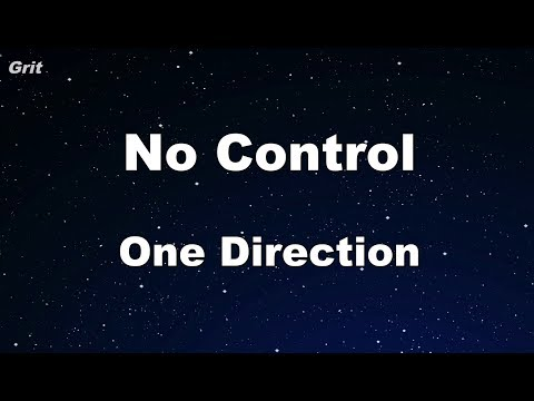 No Control - One Direction Karaoke 【No Guide Melody】 Instrumental