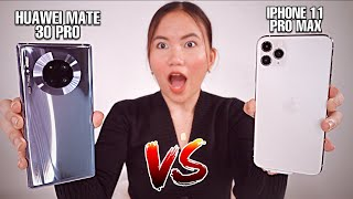HUAWEI MATE 30 PRO VS IPHONE 11 PRO MAX: BATTLE OF FLAGSHIP PHONES!