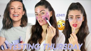 TESTING THURSDAY Florence By Mills | Millie Bobby Brown's Makeup Range..