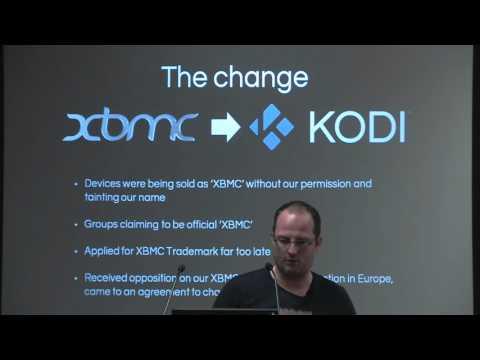 Kodi mediacenter XBMC past, present and future